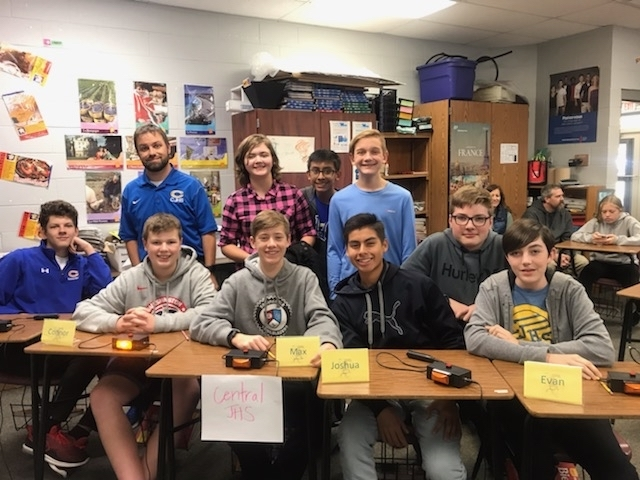 Cjhs quiz bowl students