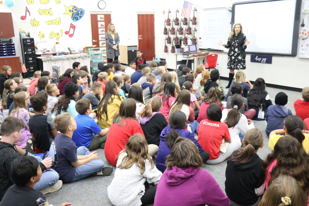 Allison Wise at Sonora Elementary
