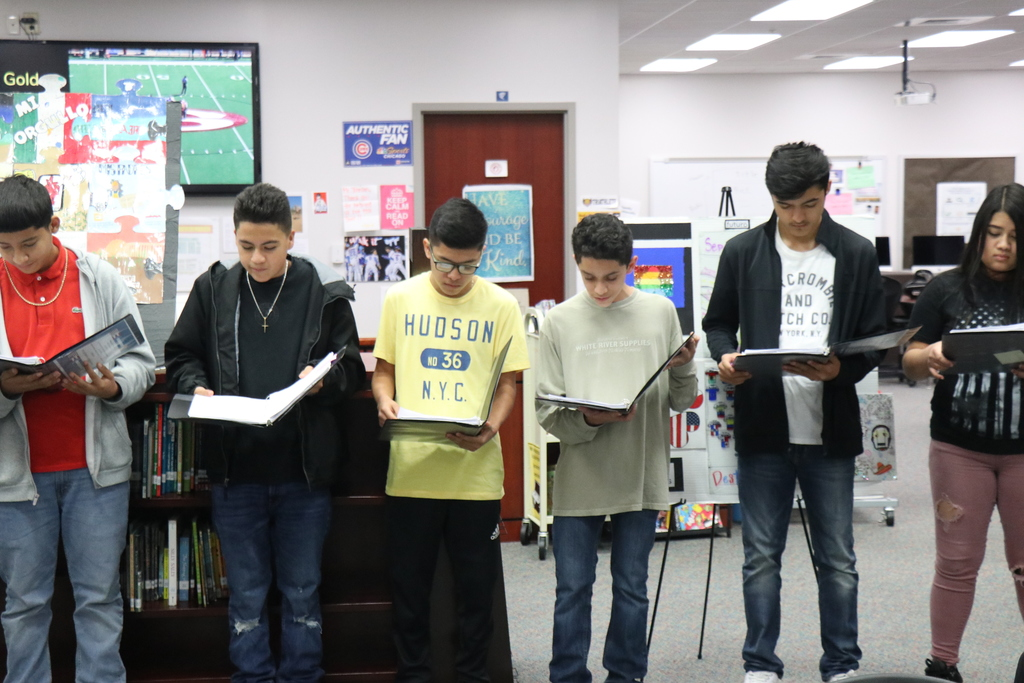 Lakeside students read their stories.