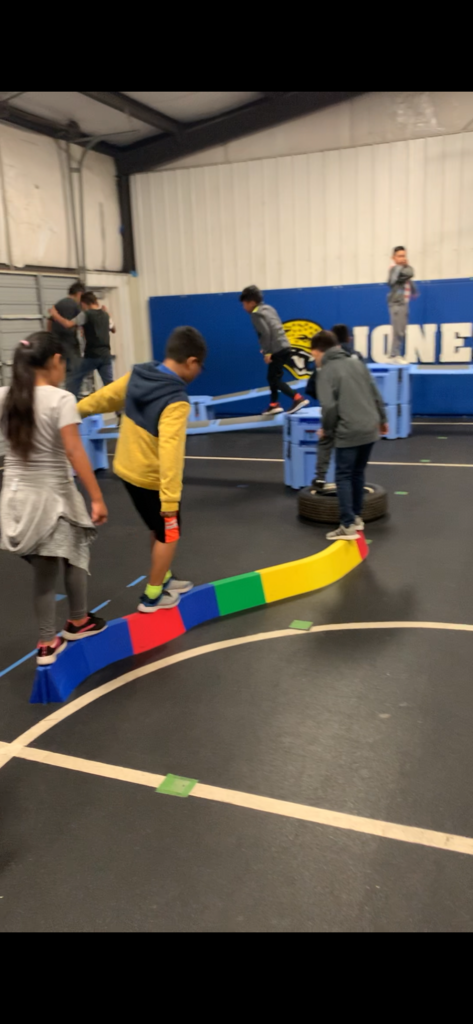 Creative PE - Obstacle Course #2