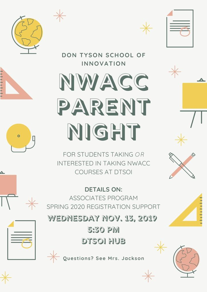 nwacc parent night