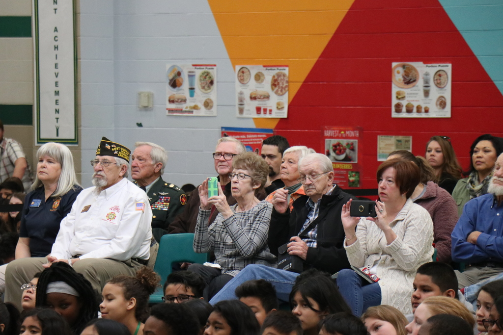 Tyson Middle School Veteran's Day