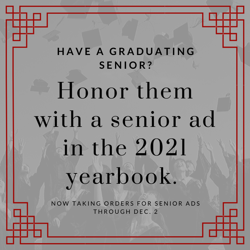 Senior Yearbook Ad Info!
