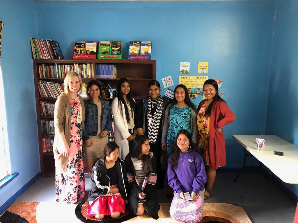 SHS Girls After School at Marshallese Church