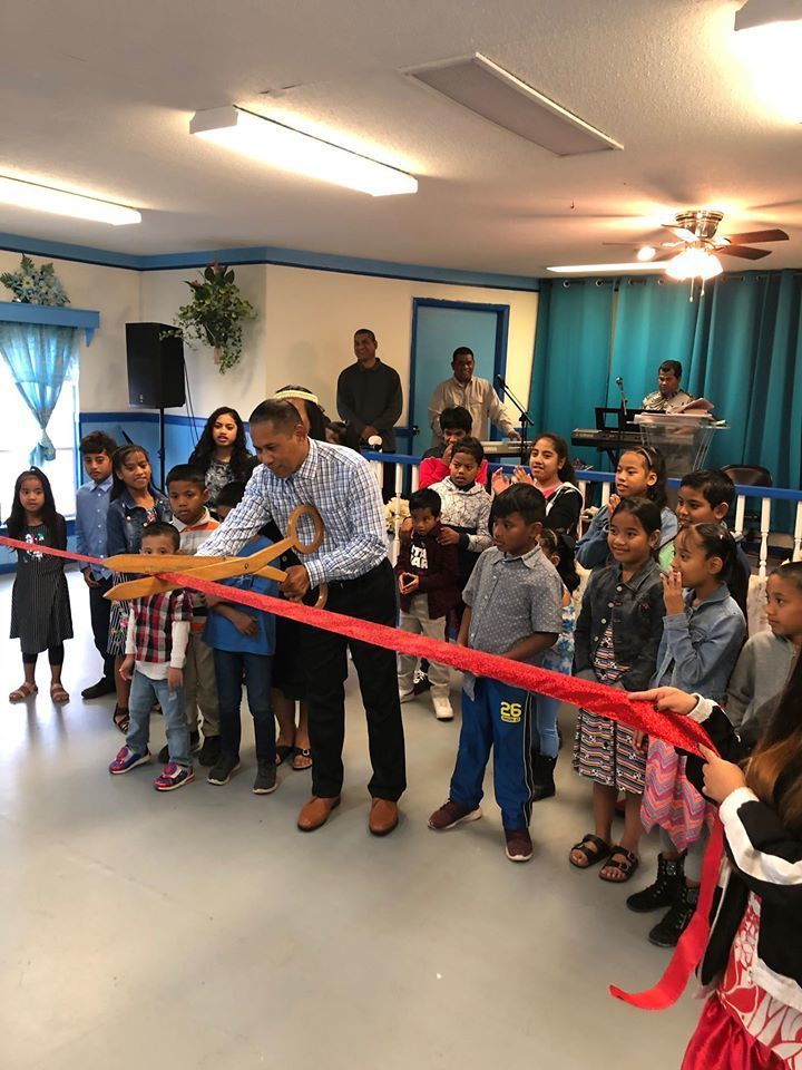 Marshallese Church ribbon cutting
