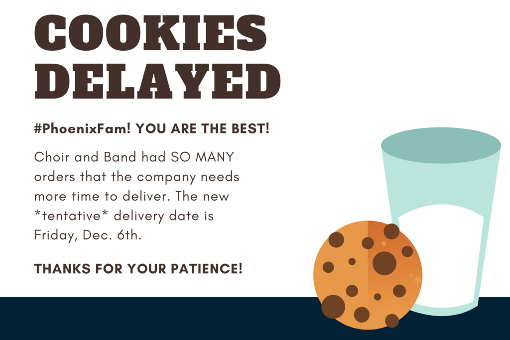 cookies delayed