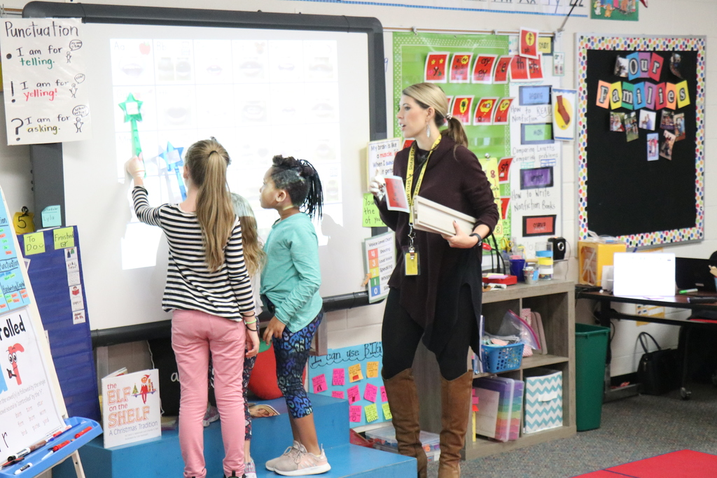 Classroom demonstration, Shaw Elementary
