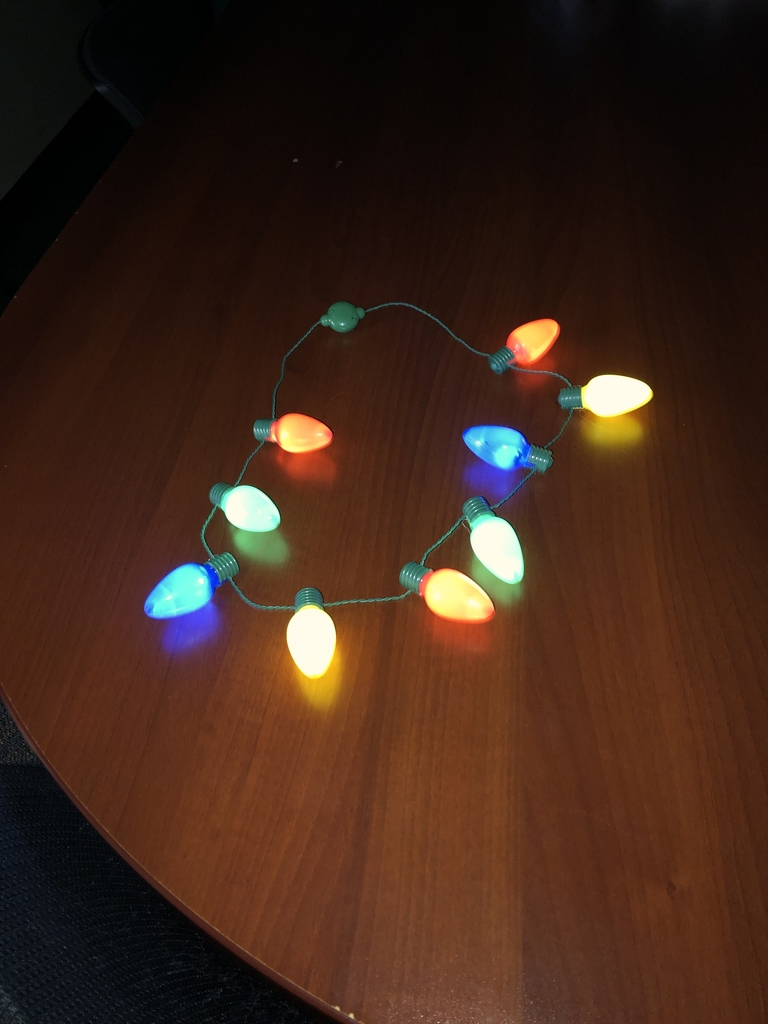 Light up necklace