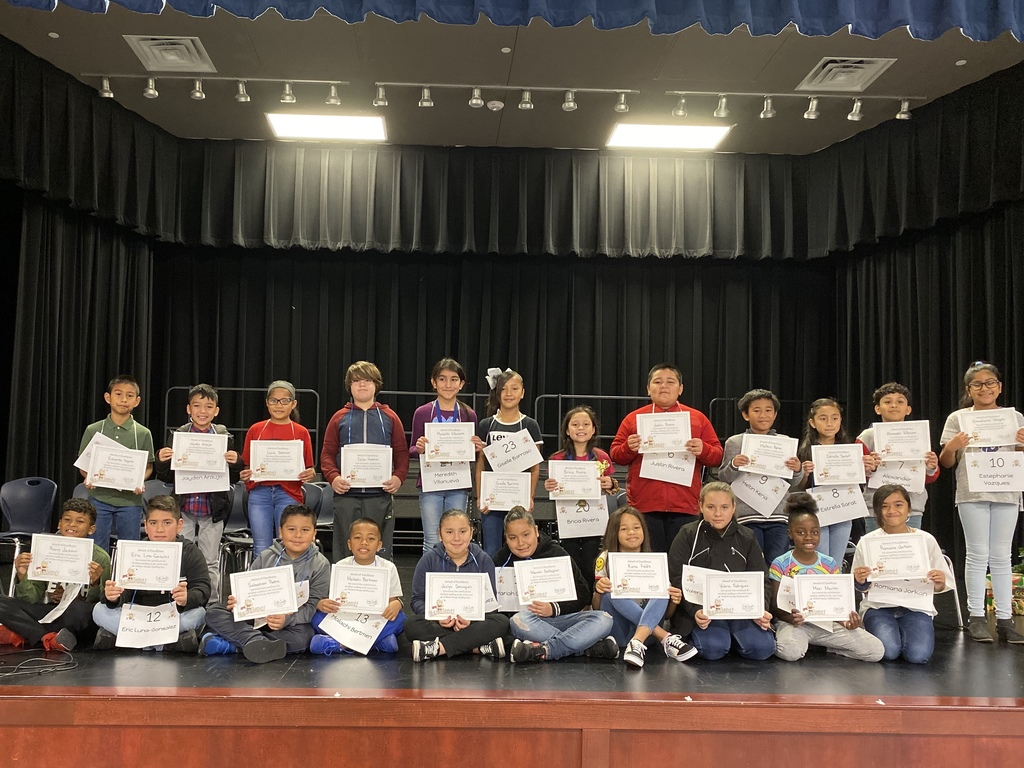 2019-2020 Spelling Bee participants
