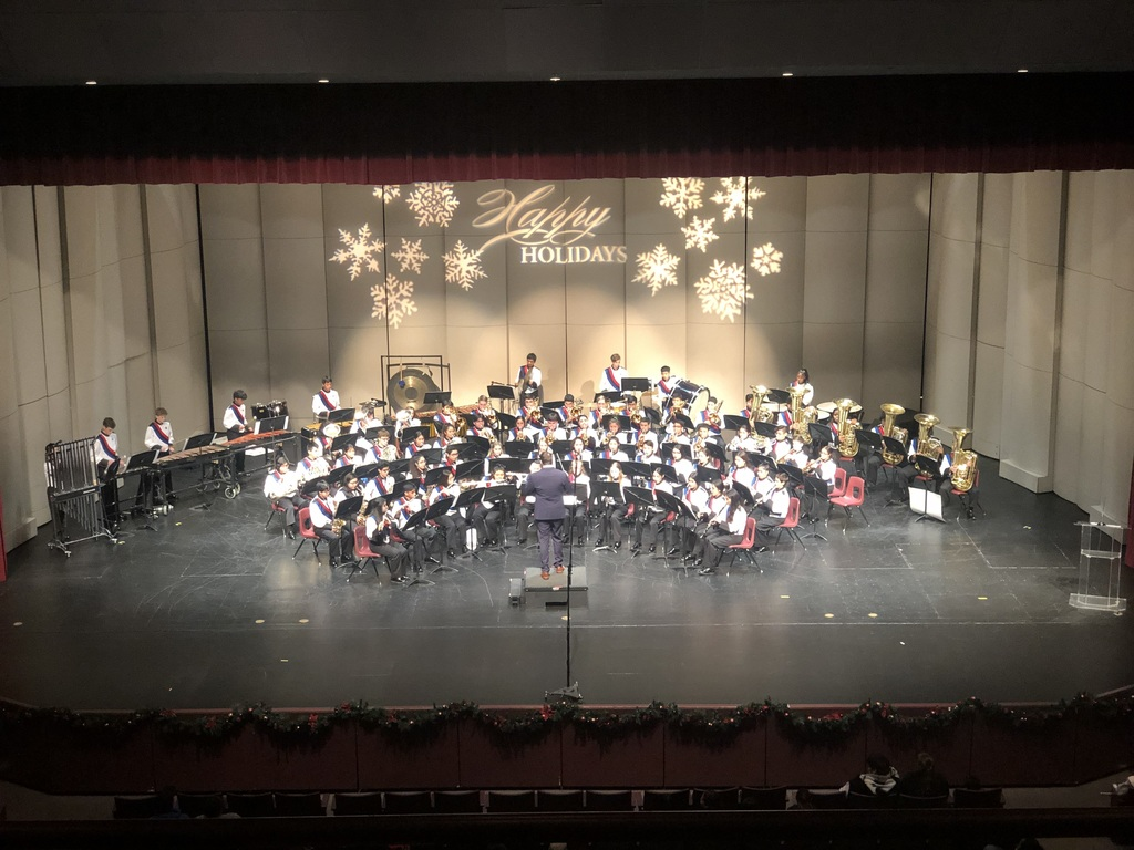 Band Winter Concert 2
