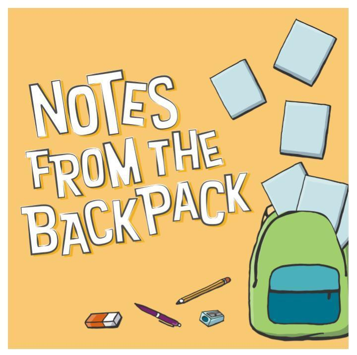 Check Notes in the Backpack