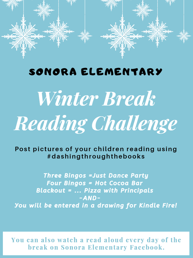 Winter Break Reading Challenge