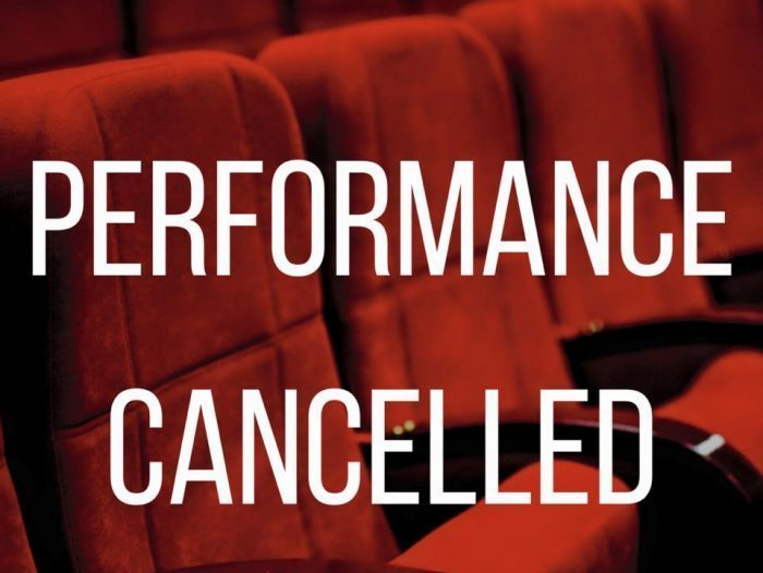 Performance Cancelled