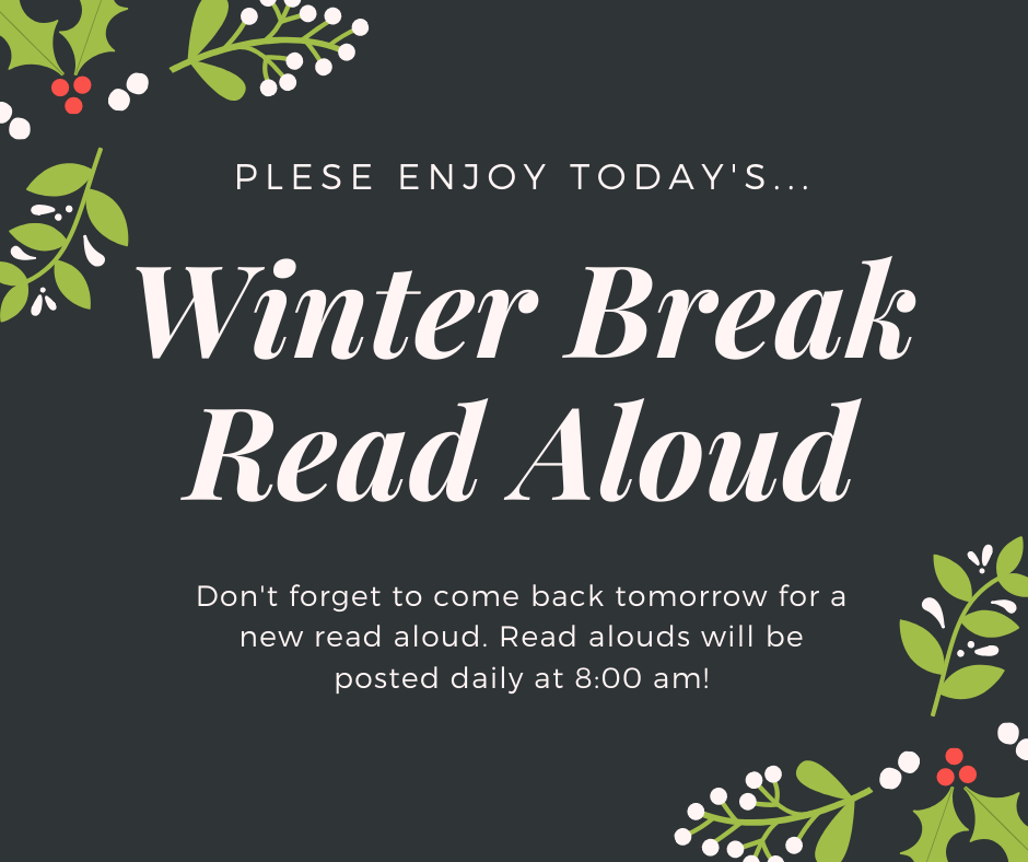 Winter Bread Read Aloud