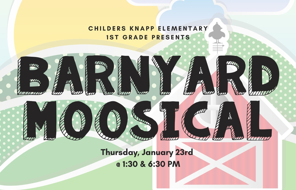 1st grade program on 1/23/20 at 1:30 PM & 6:00 PM
