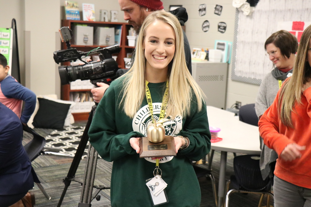 Lauren Green, Golden Apple Award