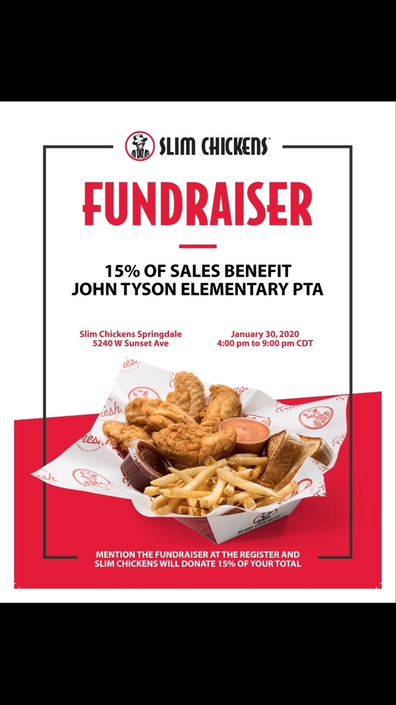 Fundraiser Tonight!