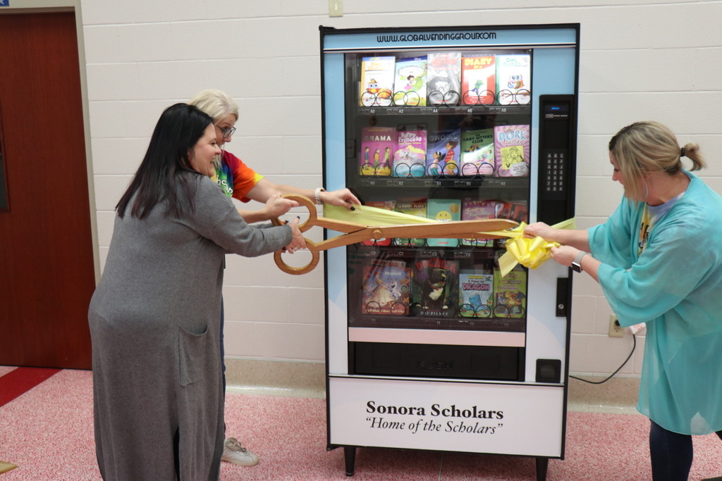 Sonora Book Vending Machine