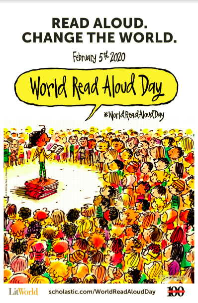 Coming this week!  #worldreadaloudday