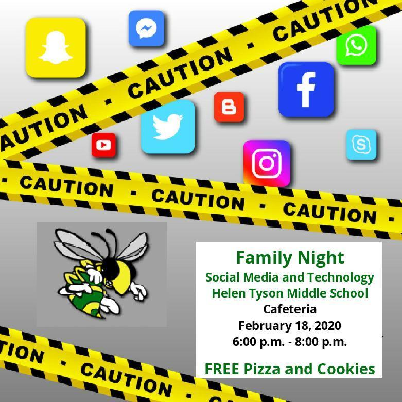 Family Night Feb. 18, 2020.  6-8pm @ HTMS