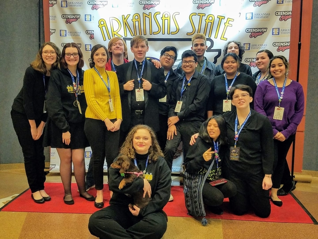 Bulldog Thespians at State!
