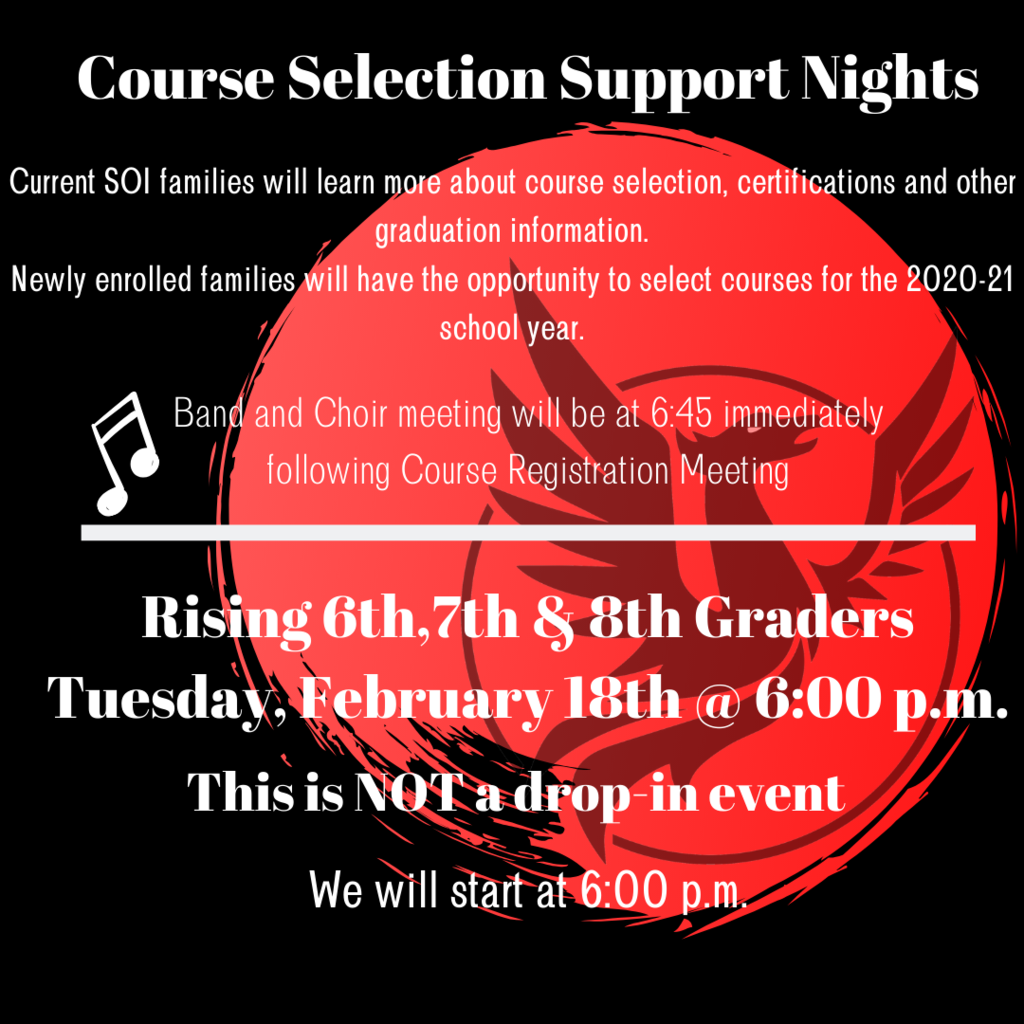 Course Selection Flyer