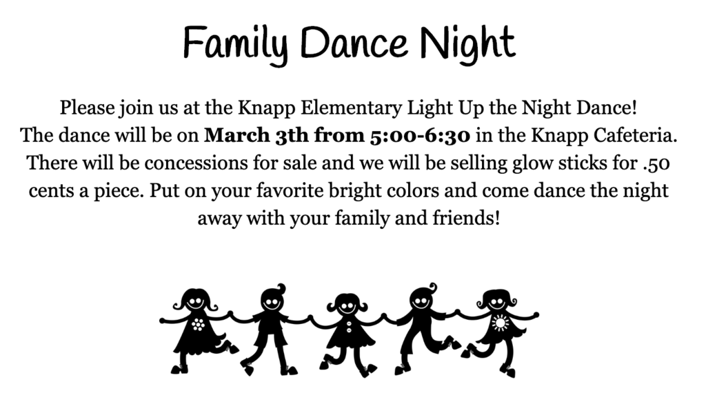 Knapp Elementary Light Up the Night Dance