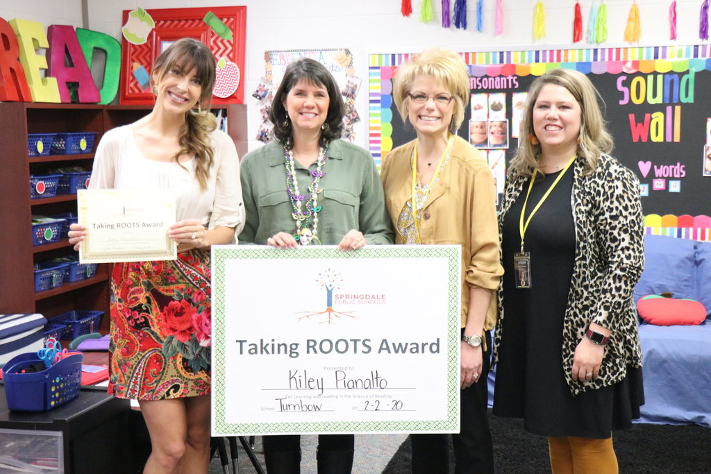 Kiley Pianalto, Roots Award Winner