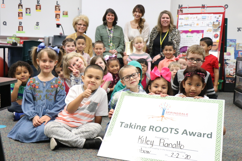 Kiley Pianalto's class, Turnbow Elementary