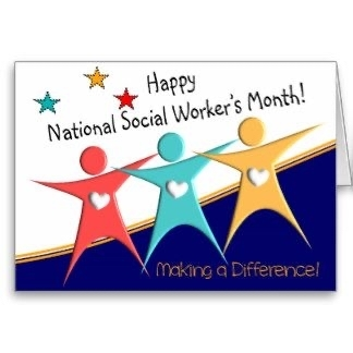 Happy national social worker's month.