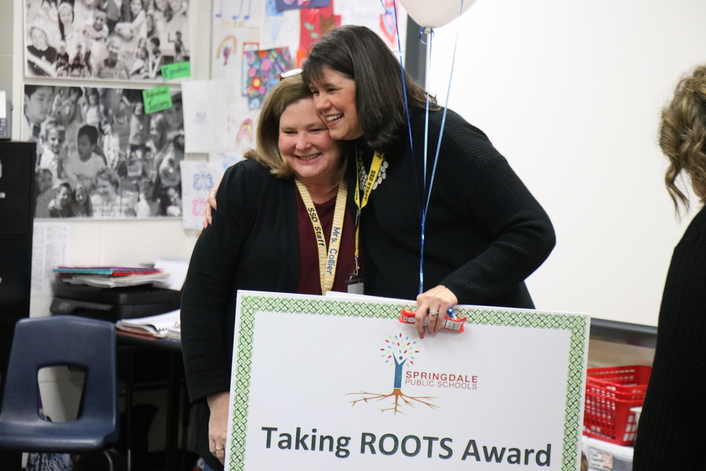 Polly Collier, ROOTS winner