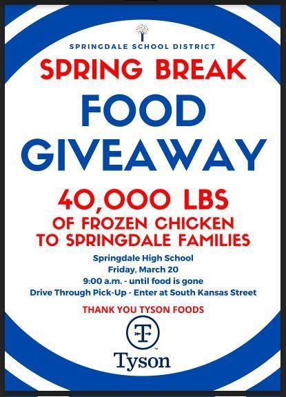Tyson Food Giveaway