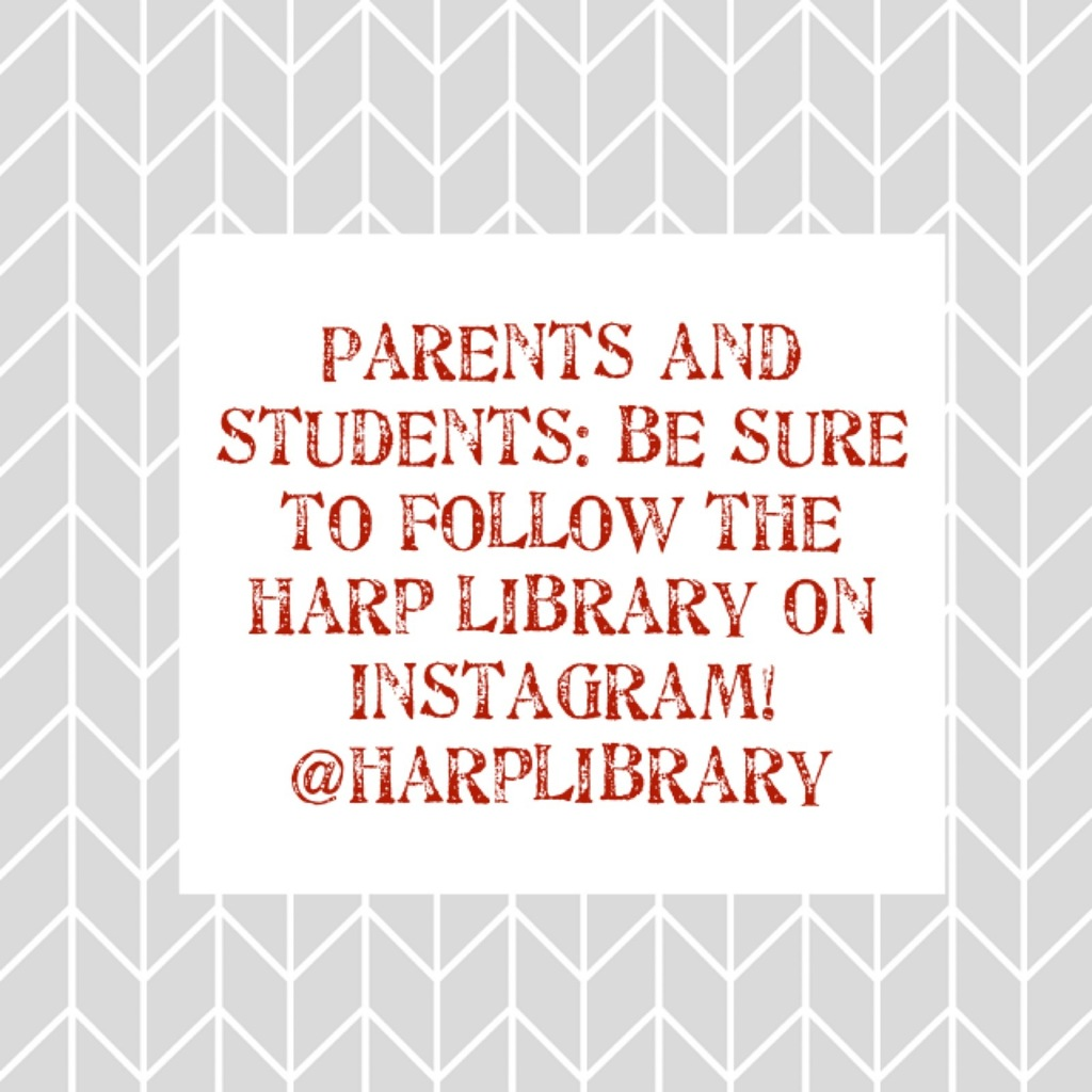 Follow Harp Library on Instagram