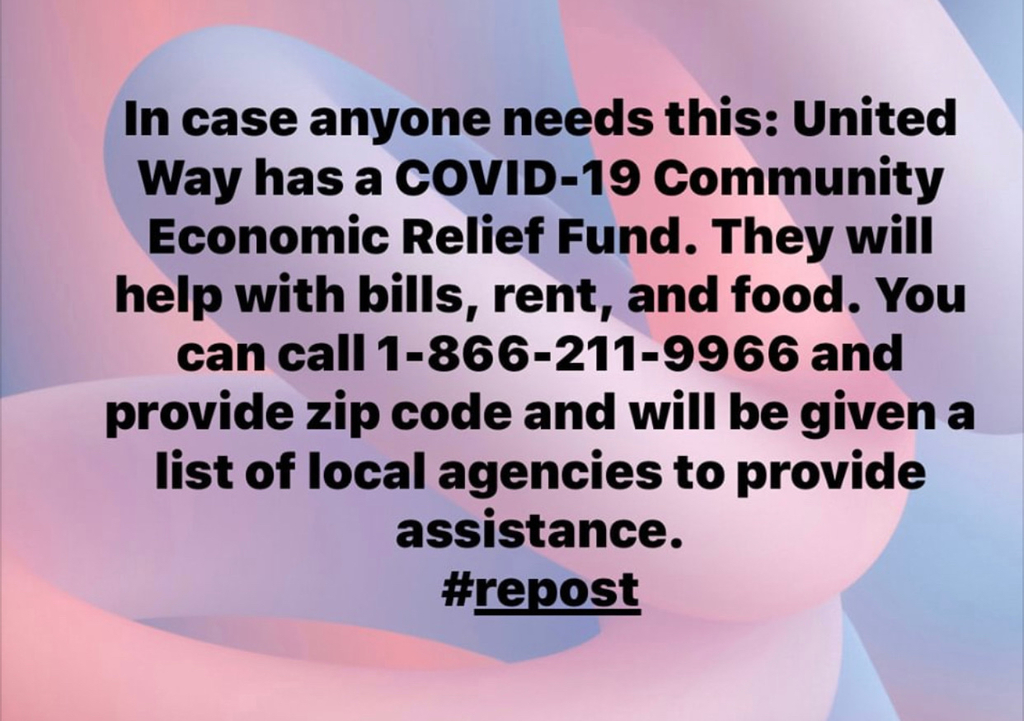 United Way can help!