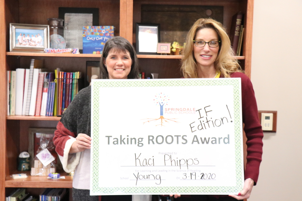 Saluting ROOTS Award winner Kaci Phipps