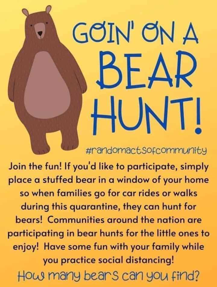 Sonora Community Bear Hunt