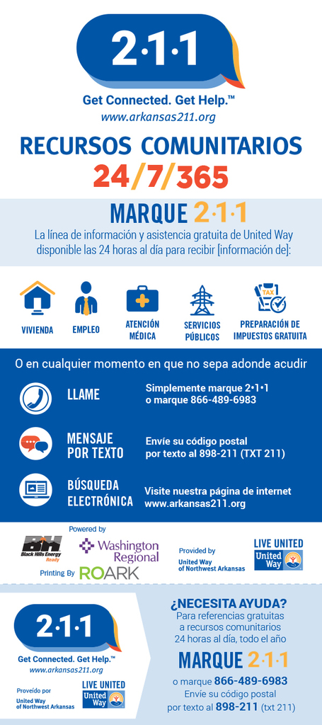 United Way info in Spanish