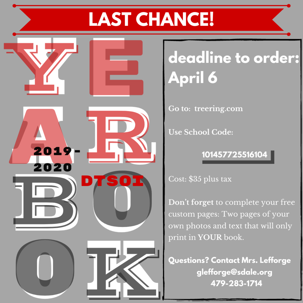 last chance yearbook