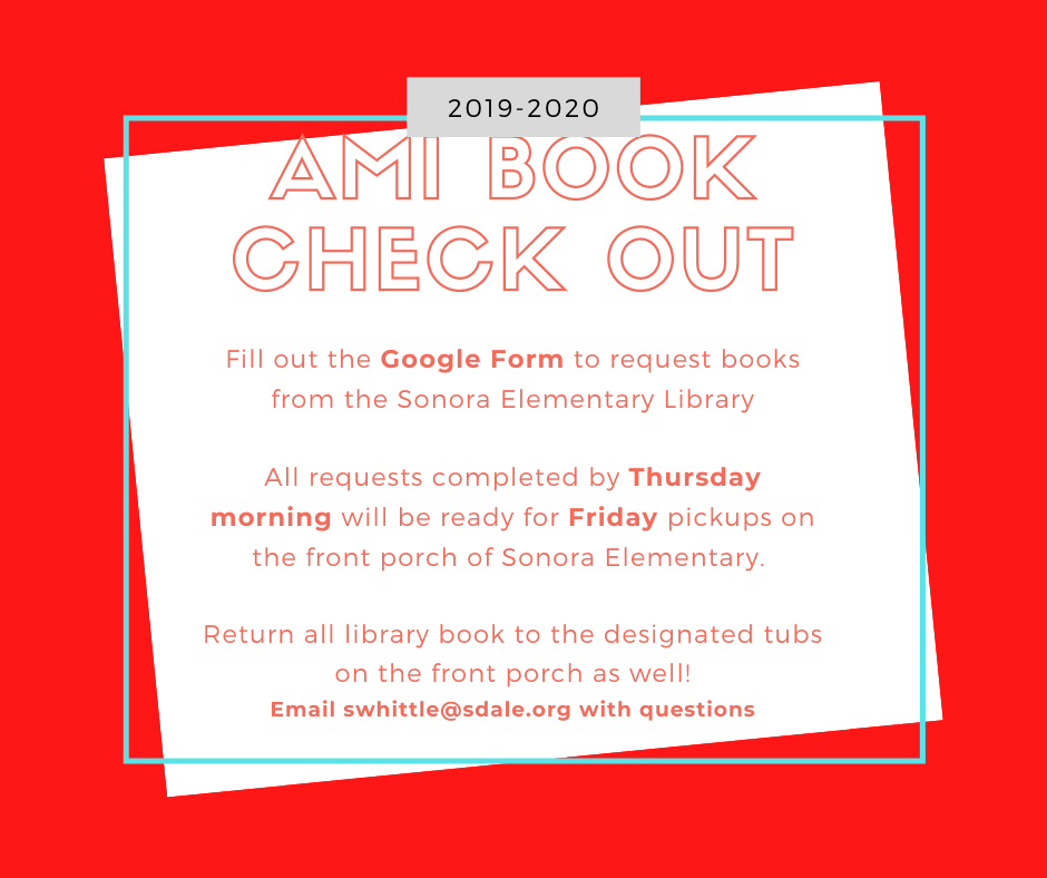 AMI Book Check Out
