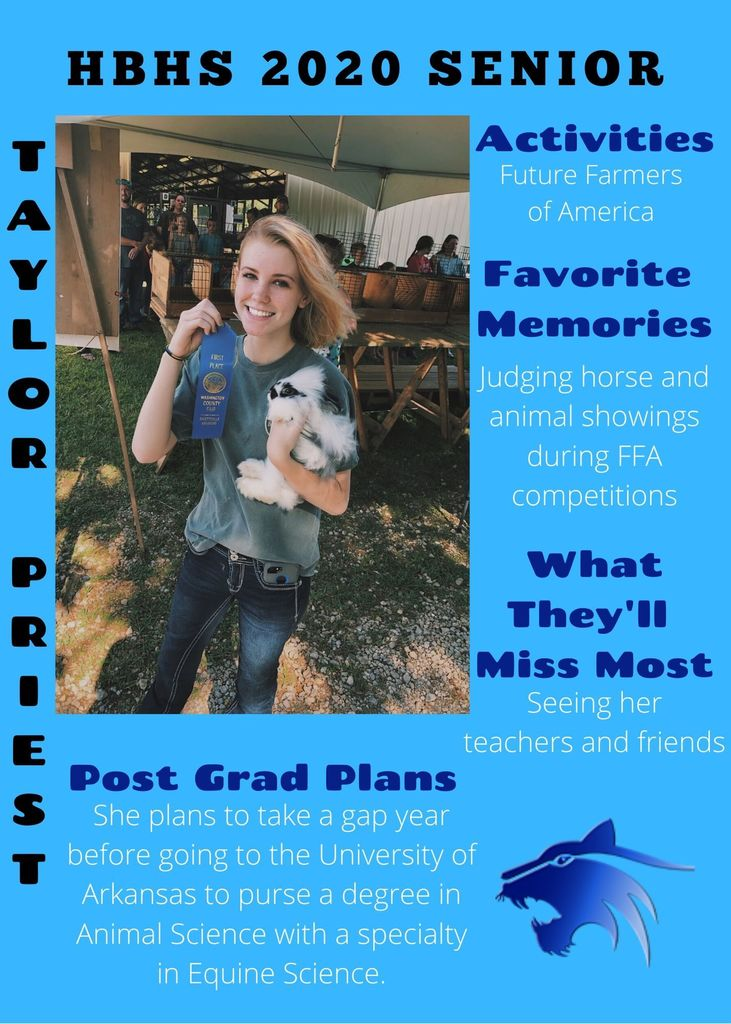 Taylor Priest- Senior Spotlight