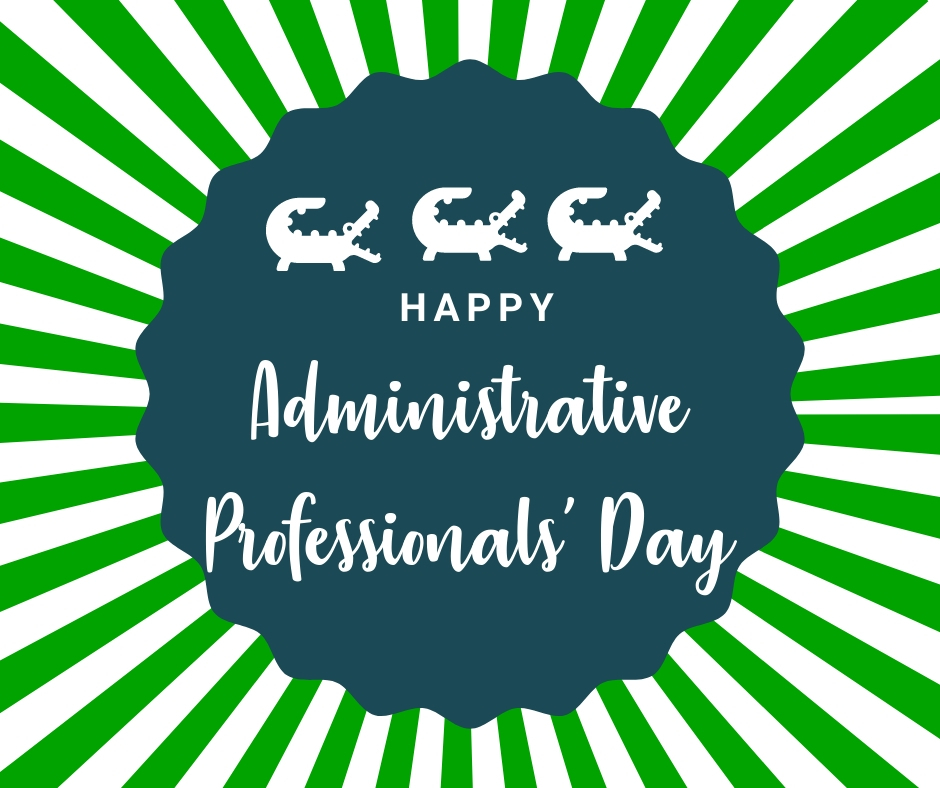 We are so thankful for all of our administrative professionals and office staff. We couldn't do it without you!