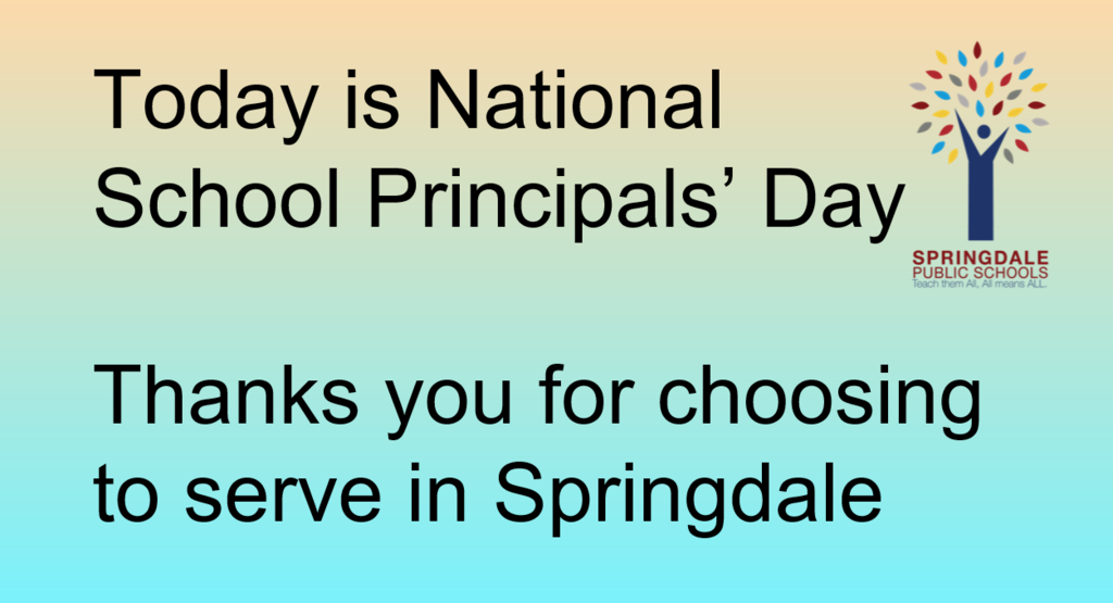 National Principals' Day