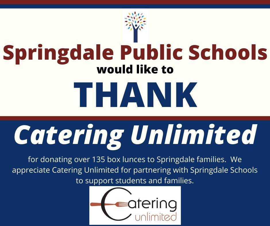 Thank You Catering Unlimited
