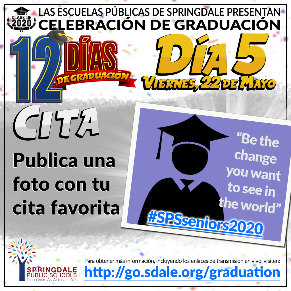 SPA 12 Days of Graduation Day 5