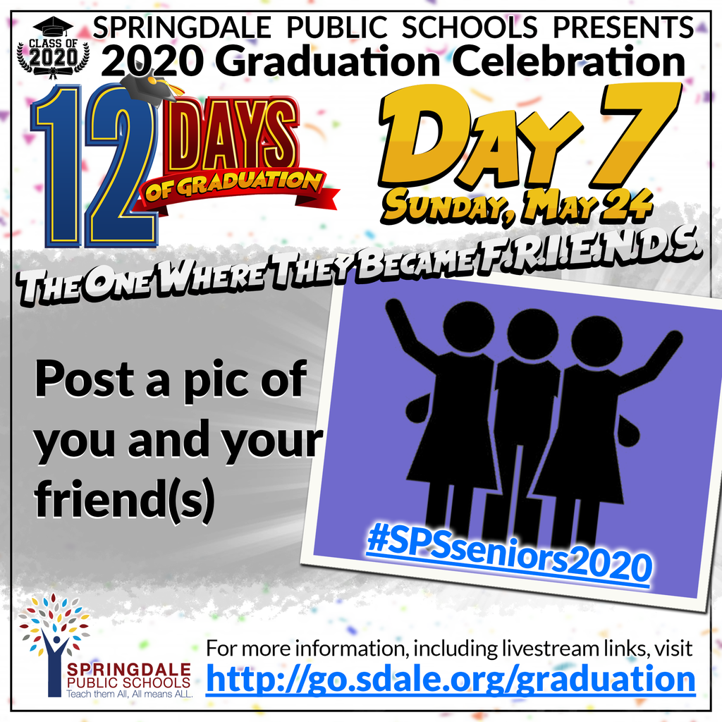 ENG 12 Days of Graduation Day 7