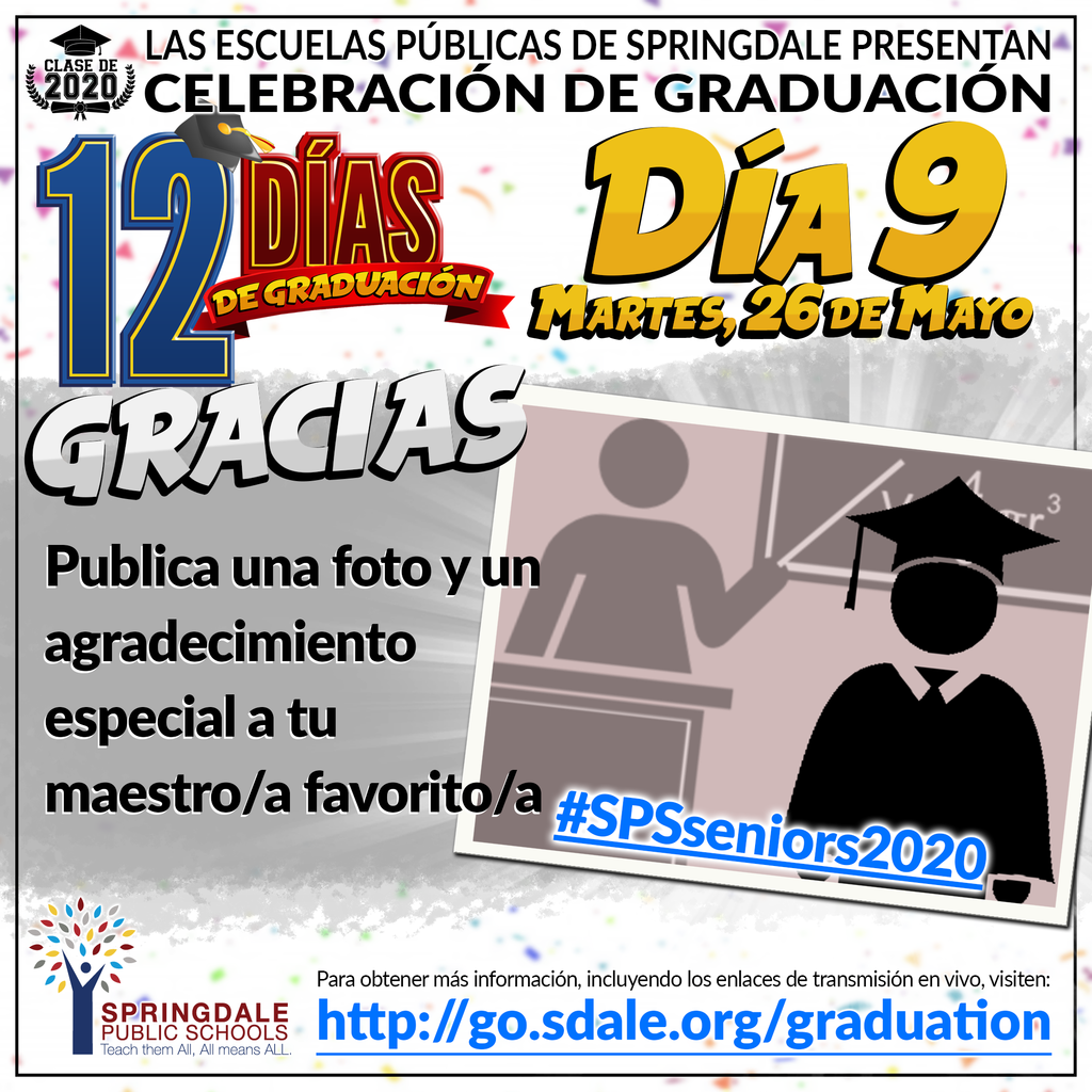 SPA 12 Days of Graduation