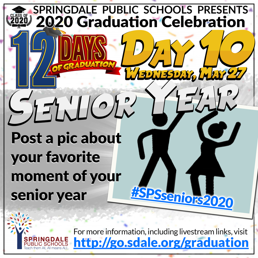 ENG 12 Days of Graduation Day 10
