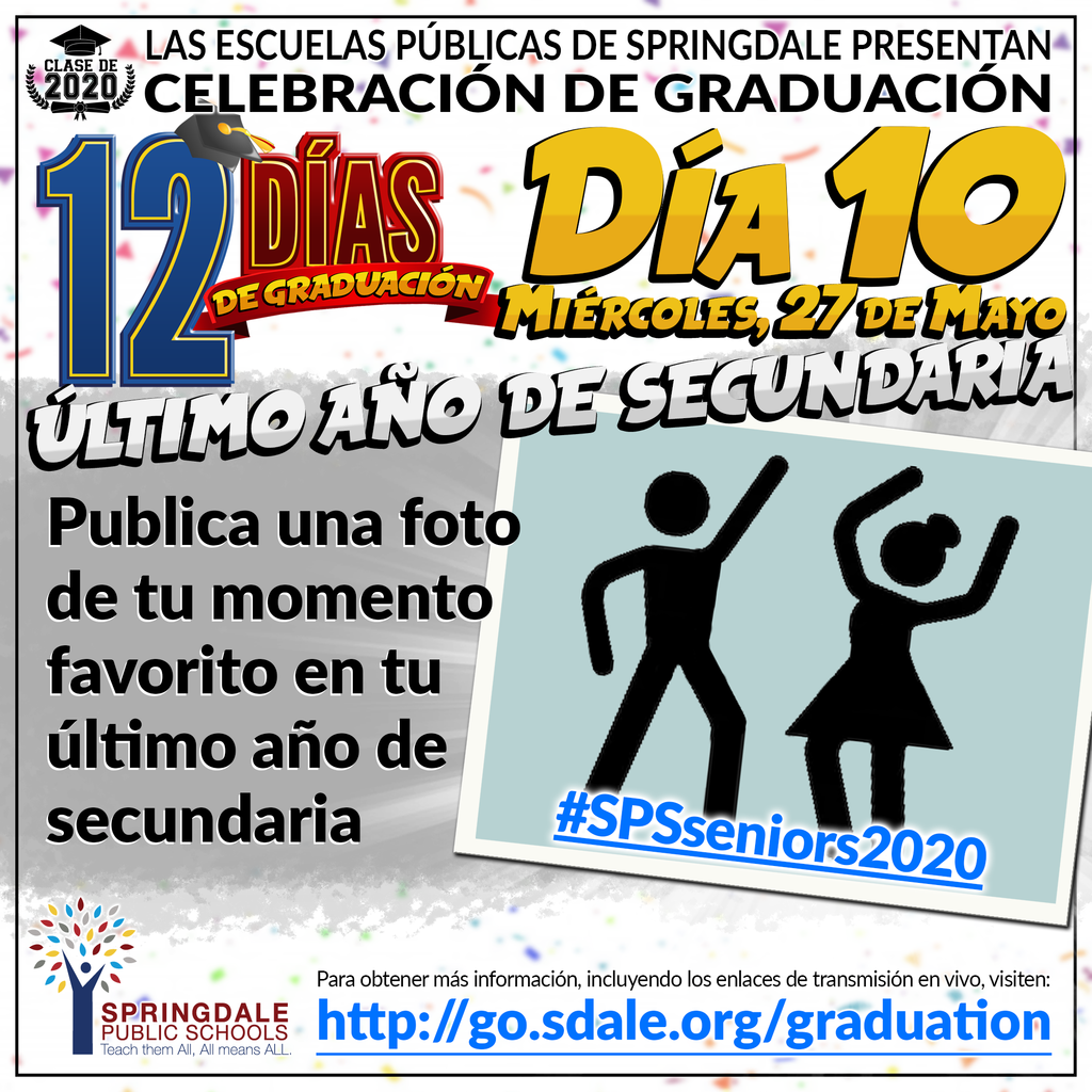 SPA 12 Days of Graduation Day 10