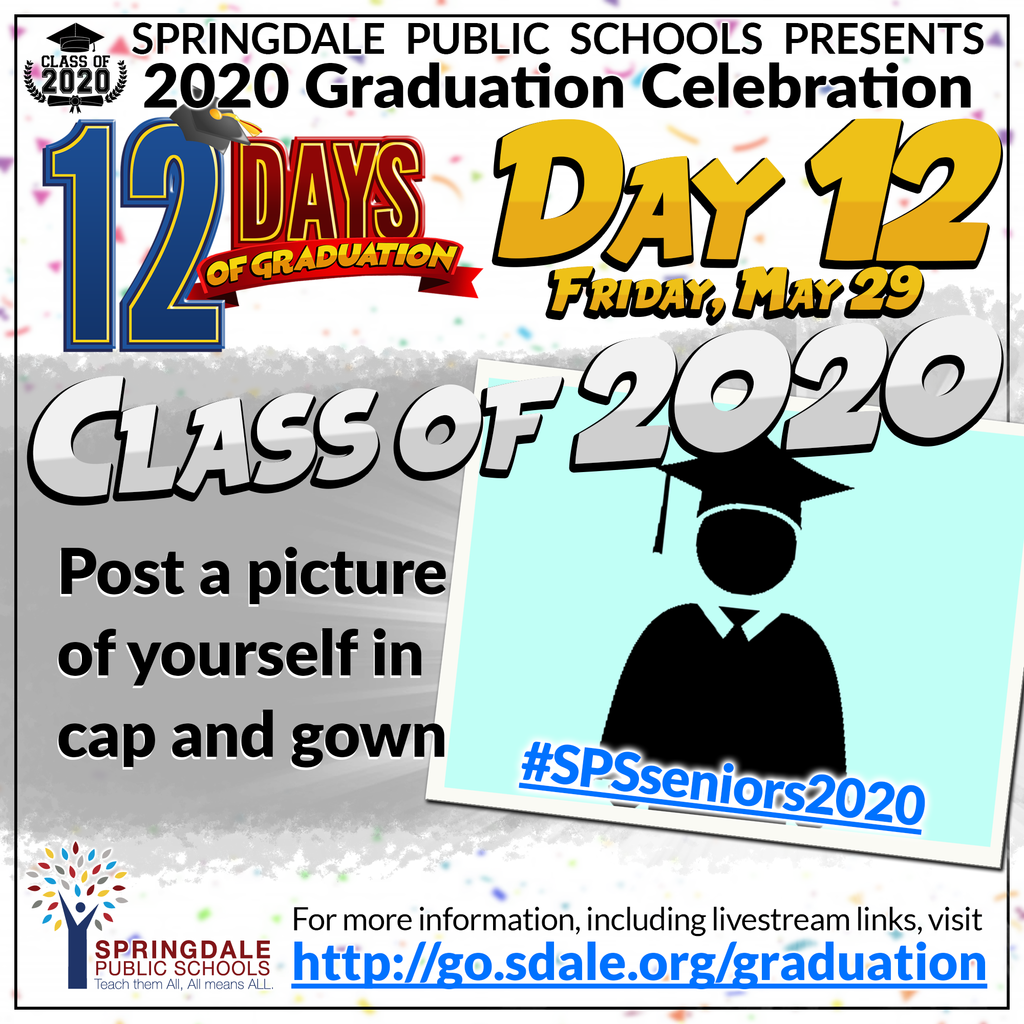 ENG 12 Days of Graduation Day 12