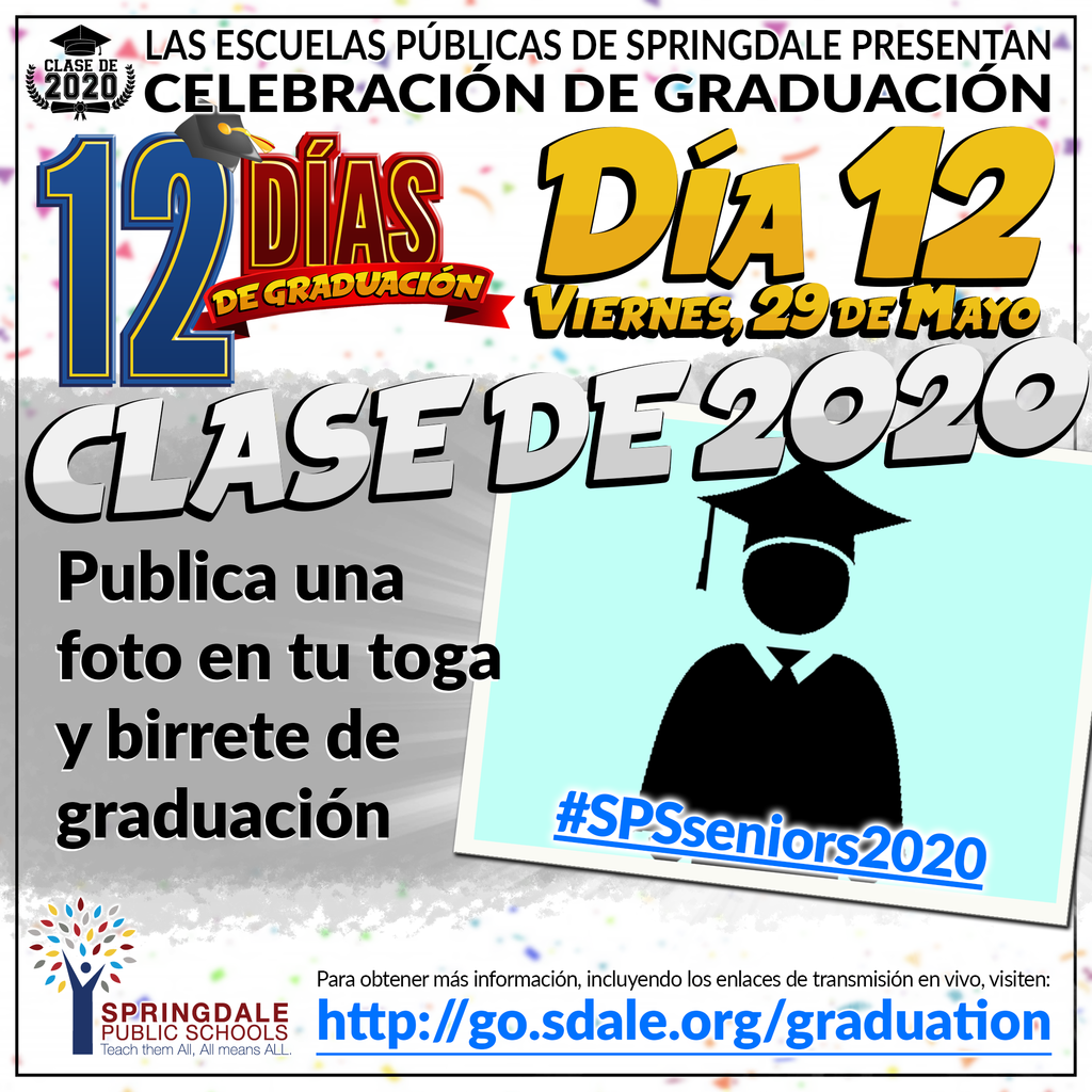 SPA 12 Days of Graduation Day 12
